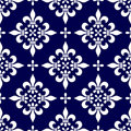 Seamless Classic Pattern [1] Royalty Free Stock Photo