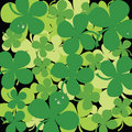 Seamless clover background Royalty Free Stock Images