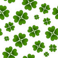 Seamless clover background Royalty Free Stock Photography