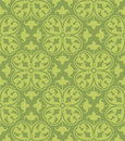 Seamless clover damask pattern a floral based on designs Stock Image