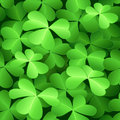 Seamless clover pattern Stock Photos