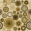Seamless cogwheel pattern Royalty Free Stock Images
