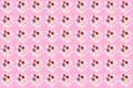 Seamless color splats pattern
