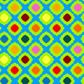 Seamless colored squares geometric pattern Royalty Free Stock Photo