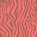 Seamless colorful animal skin texture of zebra Royalty Free Stock Photo