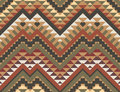 Seamless colorful aztec pattern bright Stock Image