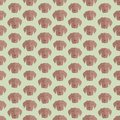 Seamless colorful background made of heads of dog in flat desig design vector Stock Image