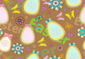 Seamless colorful Easter background Royalty Free Stock Photography
