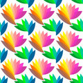 Seamless colorful floral pattern. Royalty Free Stock Images