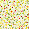 Seamless colorful floral pattern Royalty Free Stock Photography