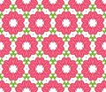 Seamless colorful floral pattern background Royalty Free Stock Photo