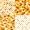 Seamless colorful gold geometric pattern Royalty Free Stock Photo