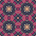 Seamless colorful pattern in moroccan style
