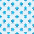 Seamless colorful drops pattern background vector water blue nature raindrop abstract illustration