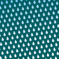 Seamless colorful rain drops pattern background vector water blue nature raindrop abstract illustration Royalty Free Stock Photo