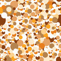 Seamless confetti pattern Royalty Free Stock Photo