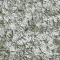 Seamless cracked plaster (paints). Royalty Free Stock Image