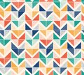 Seamless creative stylish doodle dots playful herringbone pattern