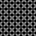 Seamless criss-cross geometric pattern. Royalty Free Stock Photo