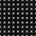 Seamless crisscross pattern. Royalty Free Stock Photo