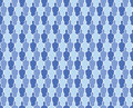 Seamless Crowd Wallpaper Pattern Royalty Free Stock Image
