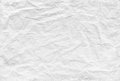 Seamless crumpled paper pattern background texture old white for Royalty Free Stock Images