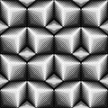 Seamless Cube Pattern. 3d Abstract Geometric Texture