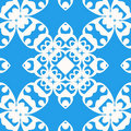 Seamless curled repeat pattern Stock Images