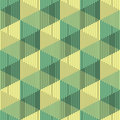 Seamless 3d Cube Pattern. Abstract Minimalistic Background. Vect
