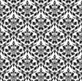 Seamless damask pattern Stock Image