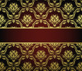 Seamless damask pattern Stock Photography