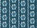 Seamless damask pattern in dark blue.