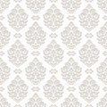 Seamless damask pattern. Royalty Free Stock Photo