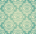 Seamless damask pattern this is file of eps format Stock Images