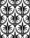 Seamless damask pattern IX Stock Images