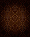 Seamless damask pattern the vector is if the overlay layer is removed Stock Photos