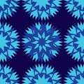 stock image of  Seamless dark blue background and colorful abstract geometric shapes cornflower blue