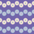 Seamless decorative floral background. Retro motif.