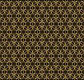 Seamless decorative pattern. Stock Image