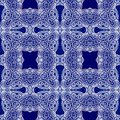 Seamless decorative pattern in arabic style Stock Photography