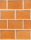 Seamless decorative plaster as a brick Royalty Free Stock Images