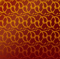 Seamless decorative wallpaper Royalty Free Stock Photos