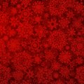 Seamless deep red christmas eps texture pattern vector file included Royalty Free Stock Photos