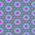 Seamless design pink and blue soft female pattern Royalty Free Stock Photo