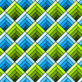 Seamless diagonal squares tile pattern