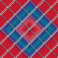 Seamless Diagonal stained glass panel Royalty Free Stock Photography