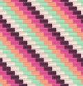 Seamless diagonal tiles pattern Royalty Free Stock Photo