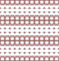 Seamless diamond pattern brown white