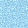 Seamless diamond pattern vector illustration Royalty Free Stock Photography