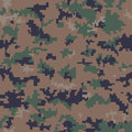 Seamless digital camouflage pattern army Stock Photos